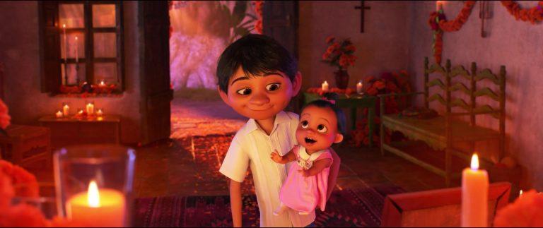 """Socorro, personnage dans """"Coco""""."""