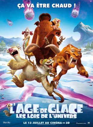 Affiche Poster Age glace 5 ice lois univers collision course disney blue sky fox