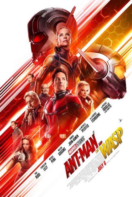 Affiche Poster Ant Man Guepe Wasp Disney marvel