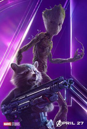 affiche poster avengers infinity war disney marvel