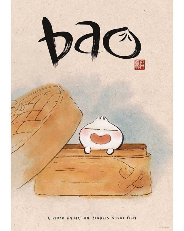 affiche poster bao disney pixar