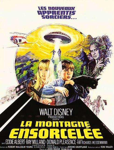 Affiche Poster montagne ensorcelee escape witch mountain disney