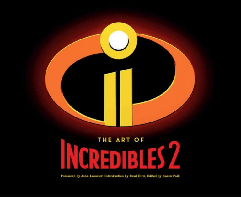 "Le livre ""The Art of Incredibles 2""."