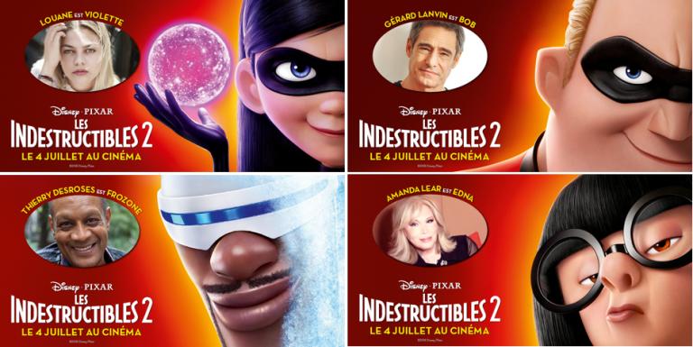 """""""Les Indestructibles 2"""" : les premières voix françaises."""