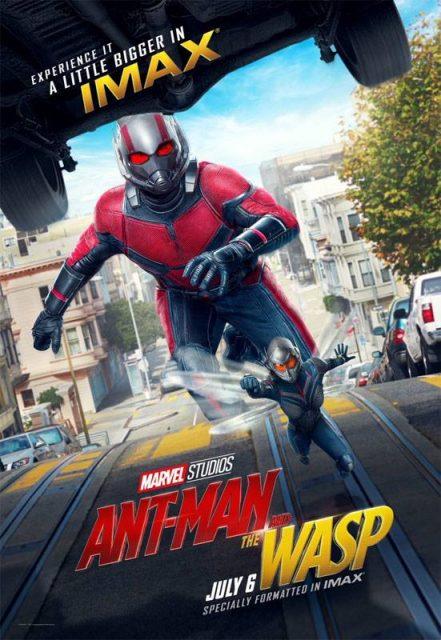 Affiche Poster Imax Ant-Man Guêpe Wasp Disney Marvel