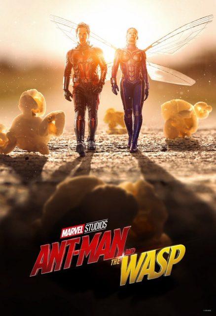 Affiche Poster Ant-Man Guêpe Wasp Disney Marvel