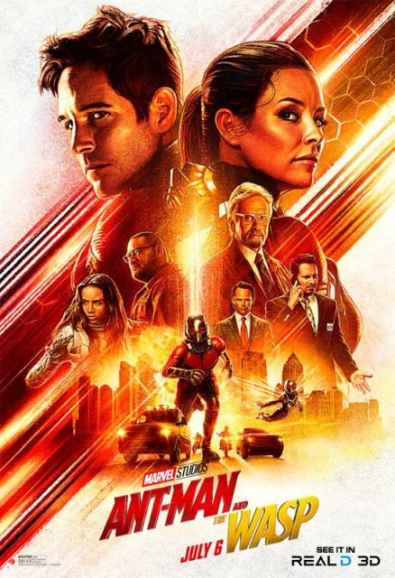 Affiche Poster Ant-Man Guêpe Wasp Disney Marvel real