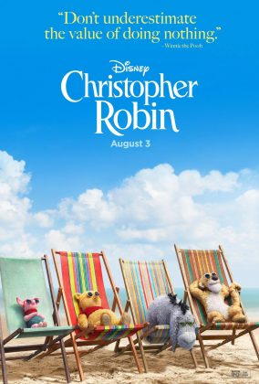 Affiche Poster Jean-Christoper Winnie Robin Christopher Disney
