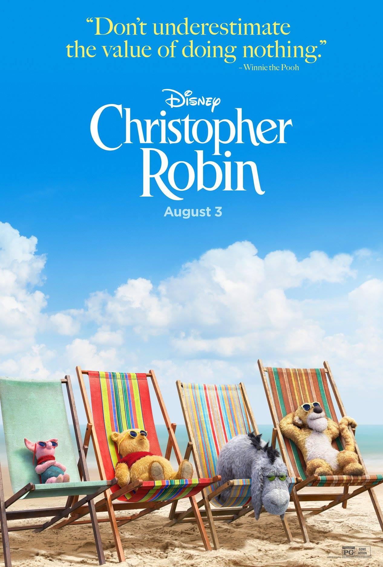 Affiche Poster Jean-Christoper Winnie Robin Christopher Disney
