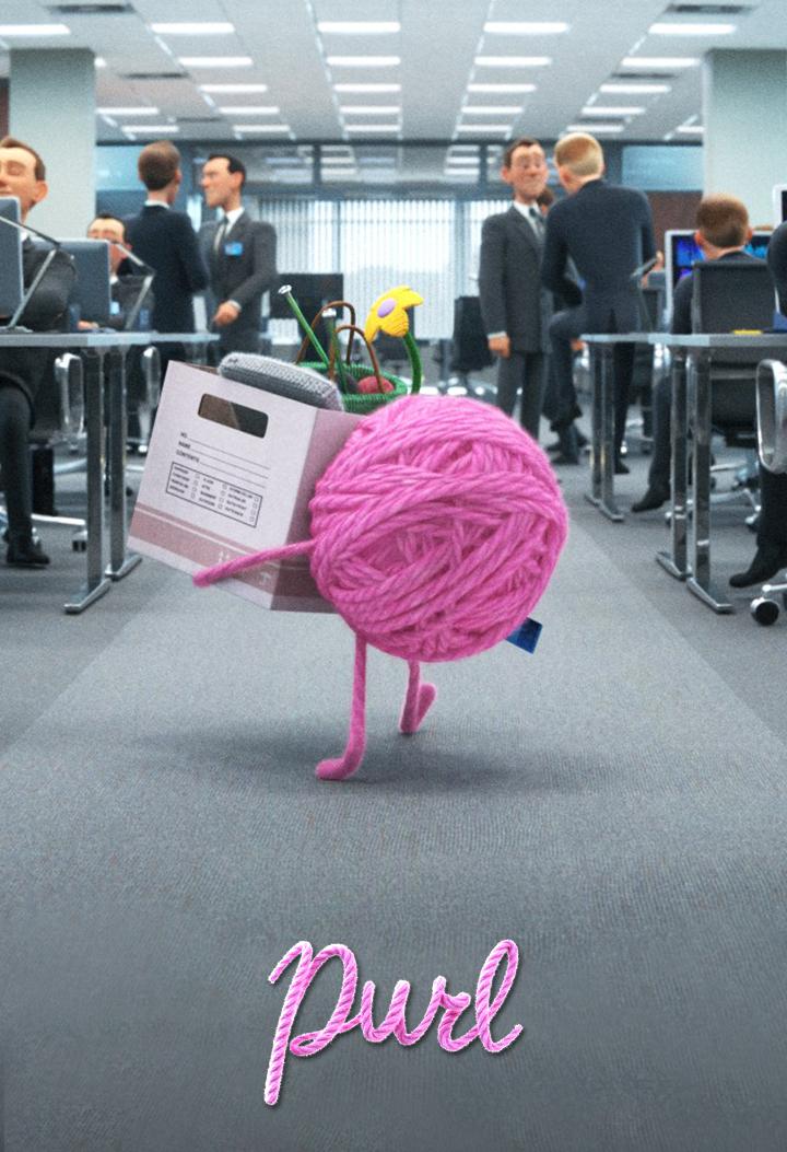 affiche poster purl disney pixar