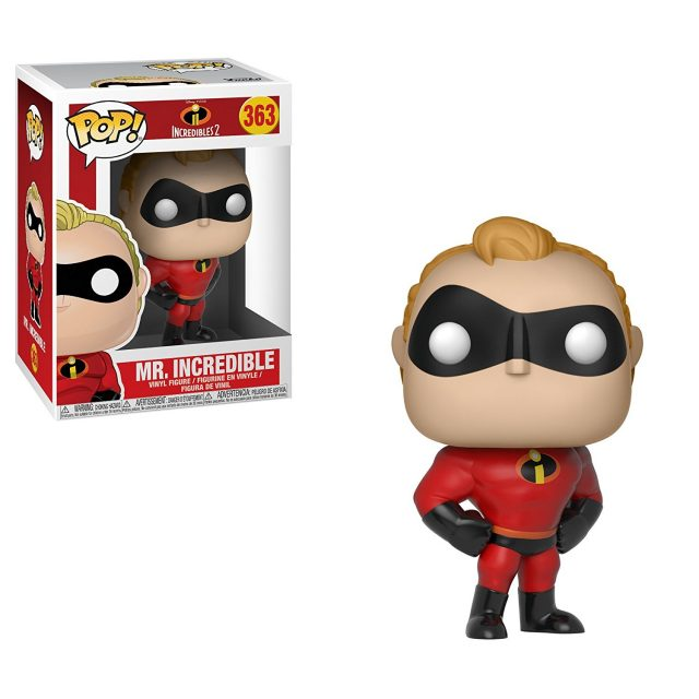 robert funko pop indestructibles incredibles 2 disney pixar