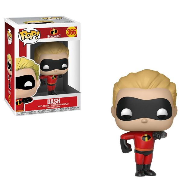 dash funko pop indestructibles incredibles 2 disney pixar