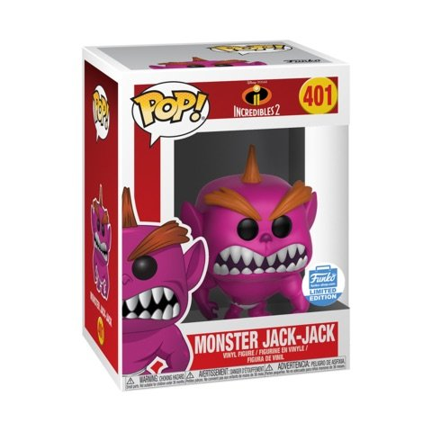 jack jack funko pop indestructibles incredibles 2 disney pixar