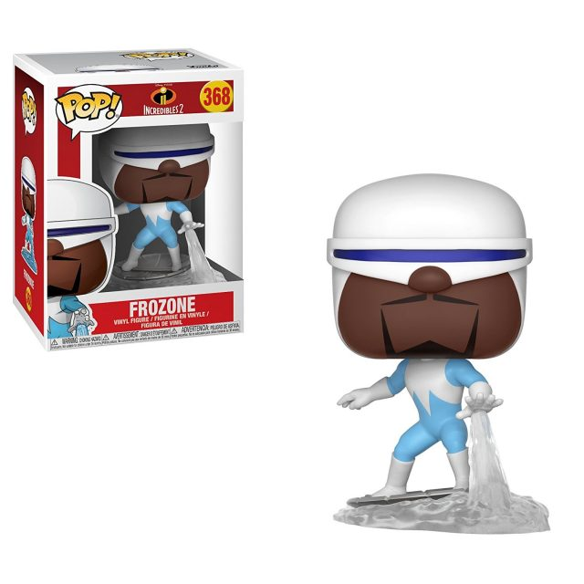 frozone funko pop indestructibles incredibles 2 disney pixar