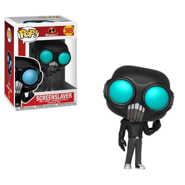 hypnotiseur screeslaver funko pop indestructibles incredibles 2 disney pixar