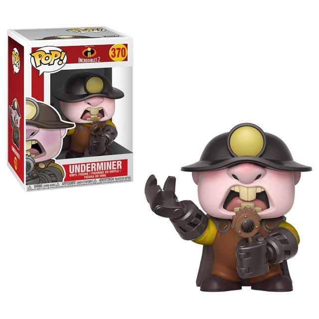démolisseur underminer funko pop indestructibles incredibles 2 disney pixar