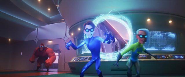 helectrix personnage character indestructibles incredibles disney pixar