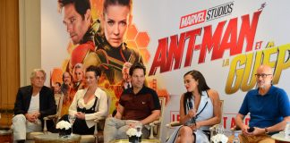 Marvel Ant-man et la guêpe and the wasp Paris hotel Bristol conference de presse