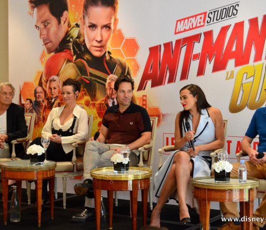 Marvel Ant-man et la guêpe and the wasp Paris hotel Bristol conference de presse