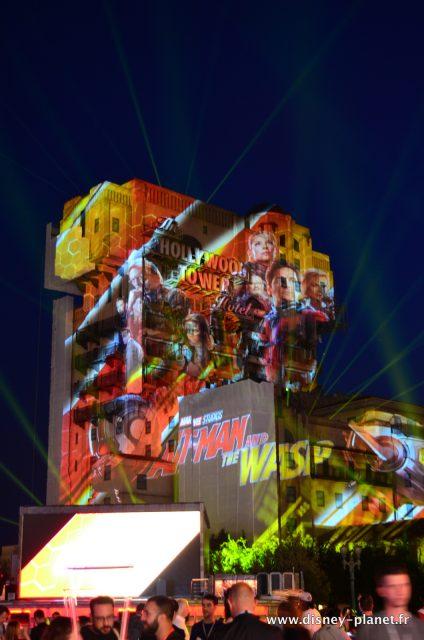 Marvel Ant-man et la guêpe and the wasp avant premiere européenne european Disneyland Paris