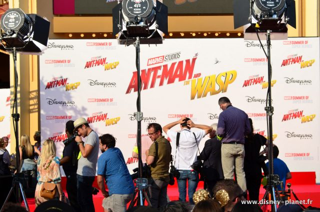 Marvel Ant-man et la guêpe and the wasp avant premiere européenne european Disneyland Paris