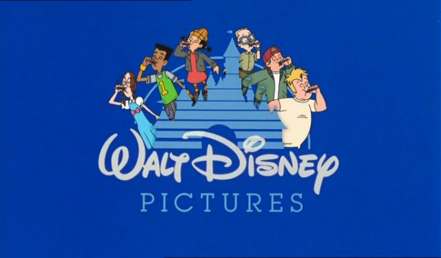 cour recre recess school out logo walt disney pictures