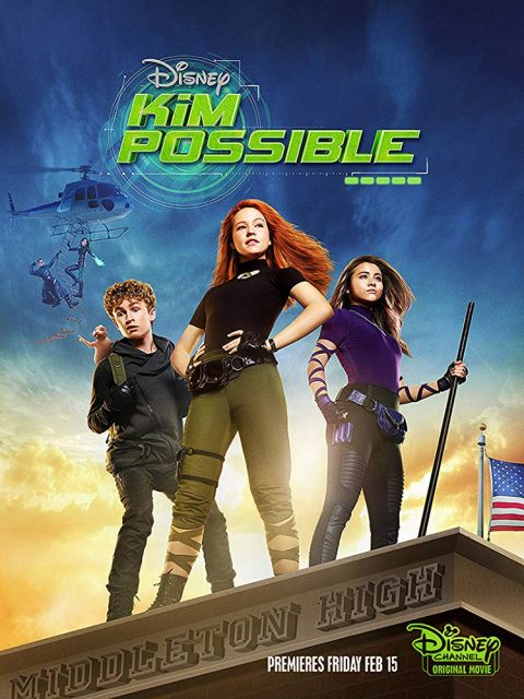 Affiche Poster Kim Possible film movie disney channel