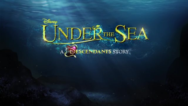 capture descendants 3 under sea disney channel