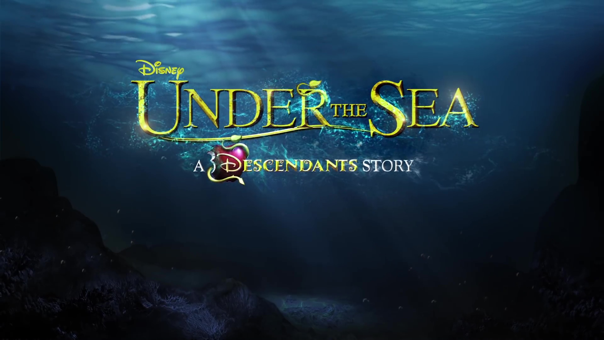 capture descendants 3 under sea disney channel