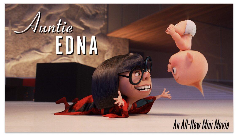 affiche poster tata auntie edna disney pixar