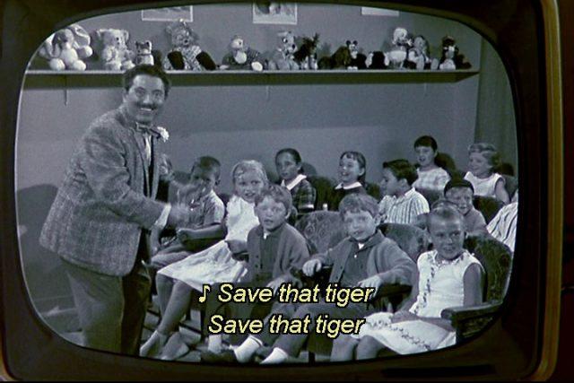 clin oeil easter egg pas tigre tiger walks disney
