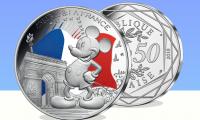 mickey pièce monnaie paris disney