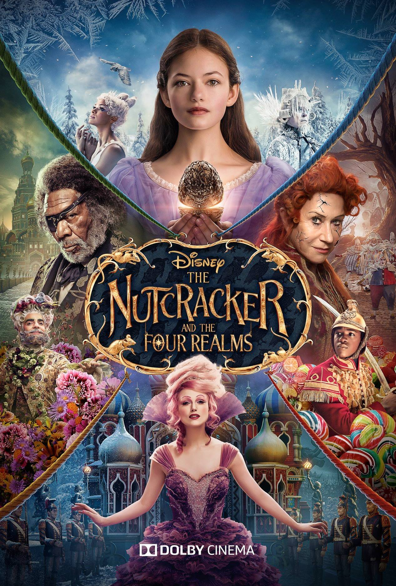 Affiche poster casse noisette quatre royaume nutcracker four realms disney