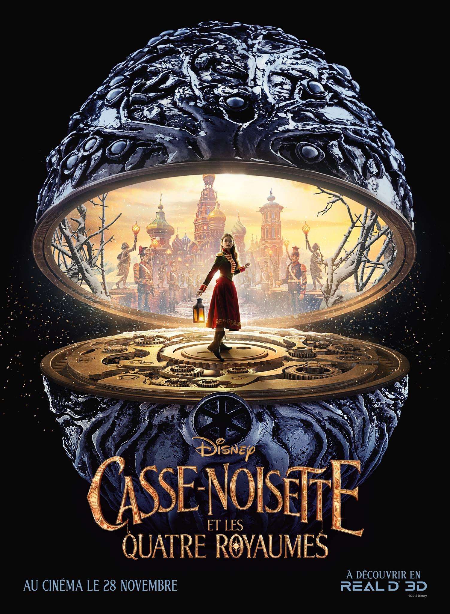 Casse Noisette Et Les Quatre Royaumes Laffiche Real 3d Disney