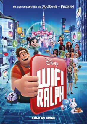 Affiche Poster ralph 2 break internet disney