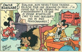 barnabe mouse mickey disney