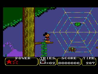 castle illusion mickey jeu vidéo game disney