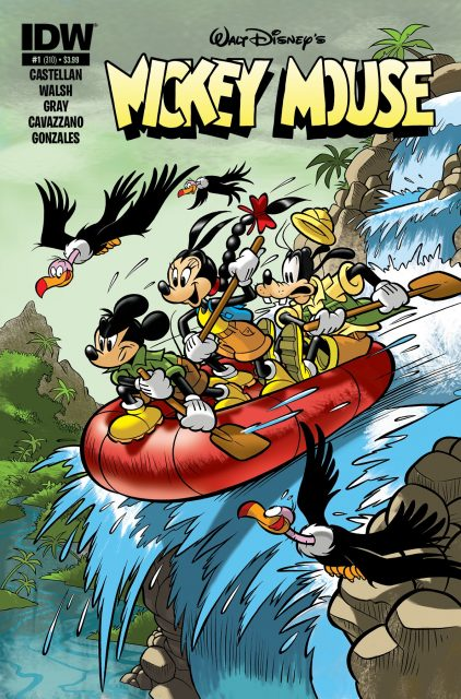 mickey mouse magazine 2015