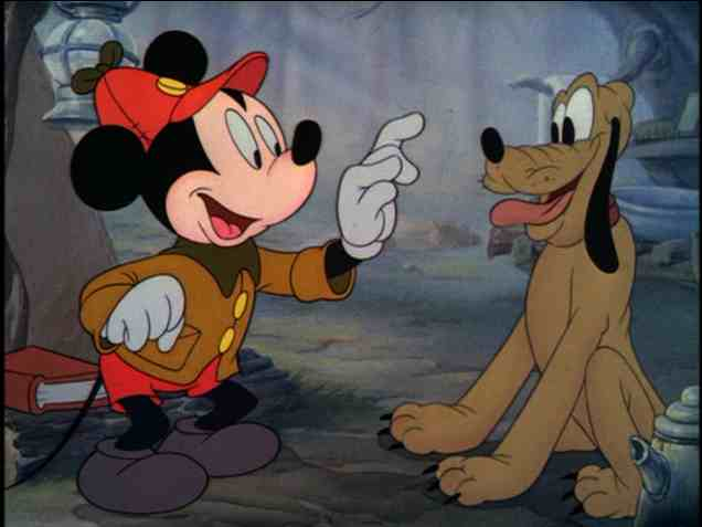 design mickey chien arrêt pointer disney