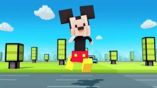 disney crossy road jeu vidéo game mickey