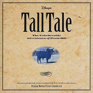 bande originale soundtrack ost score légende ouest tall tale disney