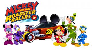 logo mickey amis roadster racers disney