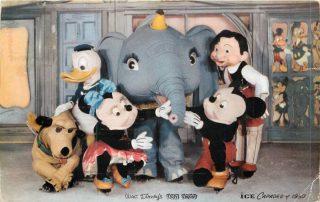 mickey 1950 disney disneyland