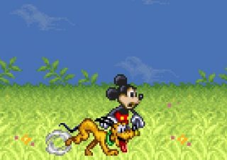 mickey magical quest jeu vidéo game disney