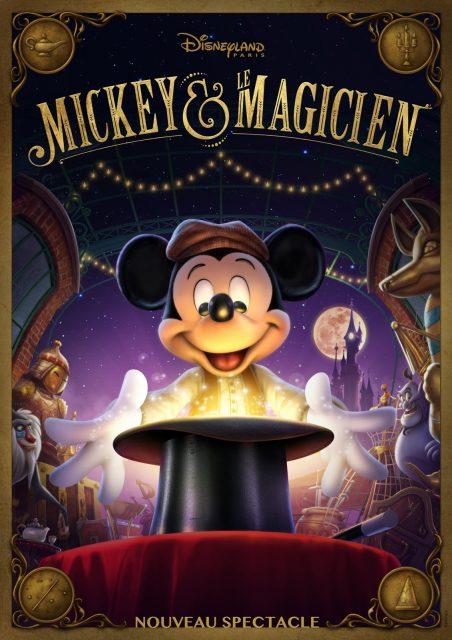 mickey magicien disney disneyland