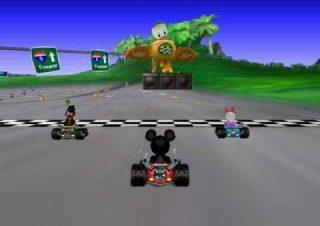 mickey speedway jeu vidéo game disney