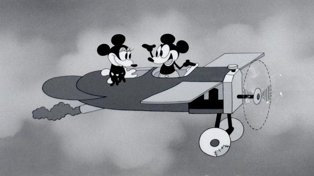 plane crazy mickey disney