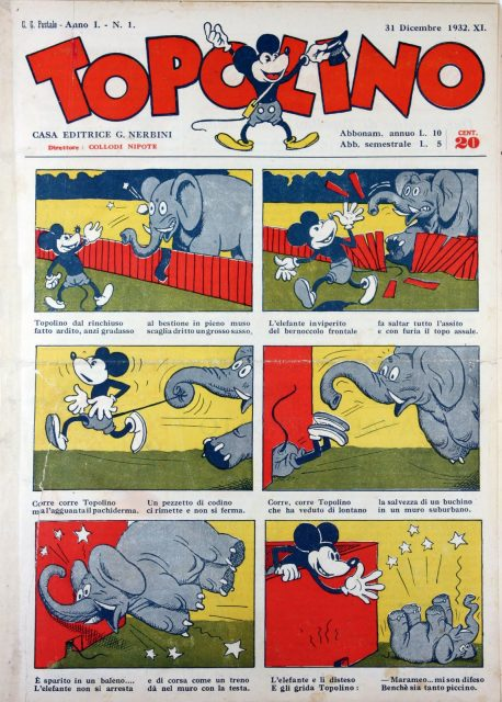 topolino mickey 1932 disney