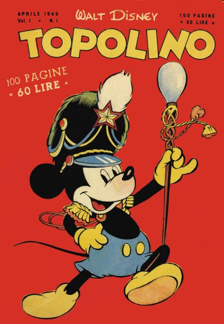 topolino mickey 1949 disney
