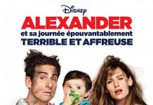 Affiche Poster alexandre journee epouvantablement horrible affreuse alexander good very bad day disney